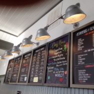 Featured Customer | Inspiration Board Leads to Barn Lighting for New Coffee Shop