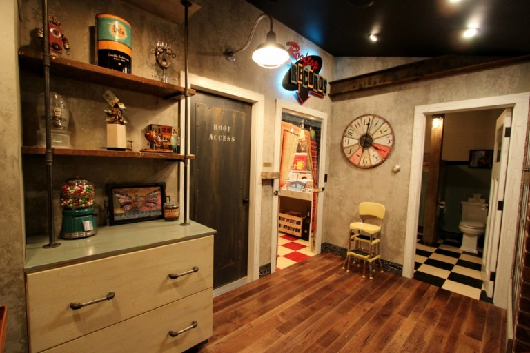 attic lighting. Professional\u0027s Corner | Industrial Lighting Brightens Attic Renovation