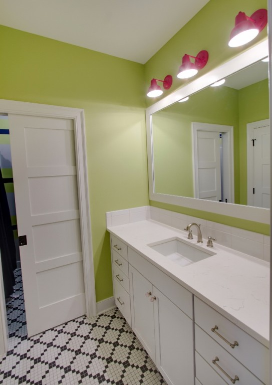 Mini Wall Sconces for Jack-&-Jill Bath | Blog | BarnLightElectric.com