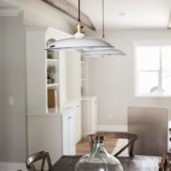 Professional's Corner | Discount Barn Lighting Lends Farmhouse Feel to Dining Room
