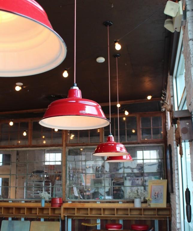 Pendant Lights Recall Simpler Times At Savannah Bakery