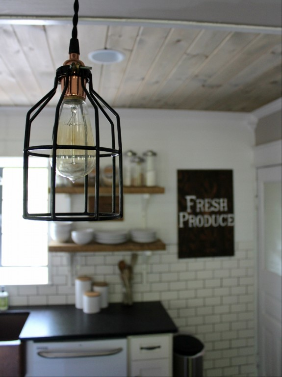 Industrial Pendants for Farmhouse Kitchen Makeover ...