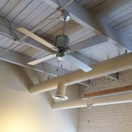 Featured Customer | Vintage Ceiling Fans Cool Office Space with Style