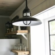 Featured Customer | Industrial Pendants for Farmhouse Kitchen Makeover