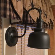 Featured Customer | Wall Sconce Suits Farmhouse Style Kitchen