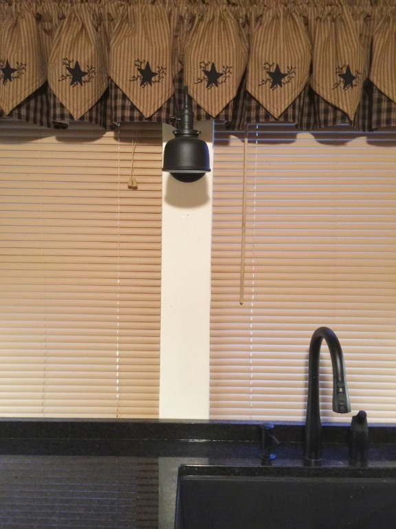 Barn Wall Sconce Suits Farmhouse Style Kitchen Blog