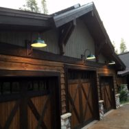 Featured Customer | Porcelain Gooseneck Lights Adorn Mountain Cabin