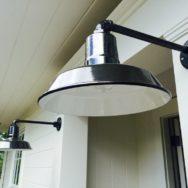 Professional's Corner | Porcelain Gooseneck Barn Lights Add Rustic Elegance in Remodel