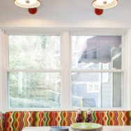 Professional's Corner | Colorful Gooseneck Lights Add Whimsy to Arts & Crafts Kitchen