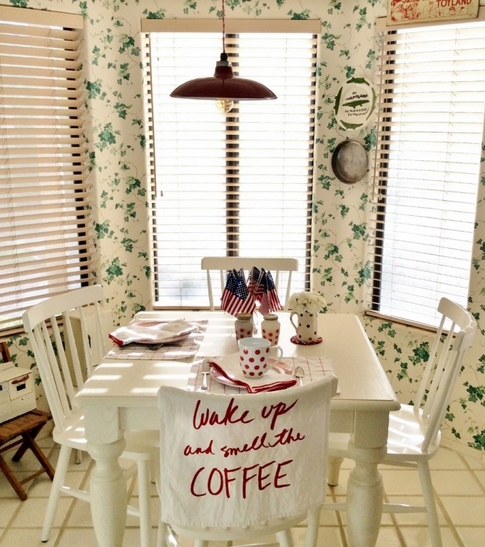 nook lighting. Featured Customer | Bold Red Pendant Light Adds Sass To Breakfast Nook Lighting