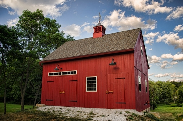 Barn Lighting Brings Authentic Look To New Barn Blog