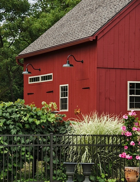 Gooseneck Lights, Ceiling Fan Highlight Barn Loft | Blog ...