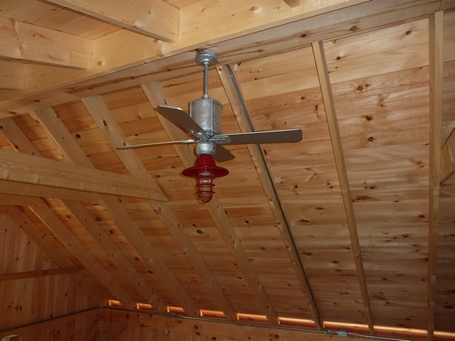 Featured Customer Gooseneck Lights Ceiling Fan Highlight Barn Loft