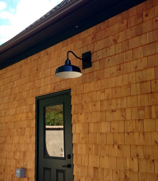 Gooseneck Barn Lighting For Rustic Mountain Home