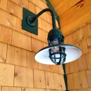 Featured Customer | Gooseneck Barn Lighting for Rustic Mountain Home