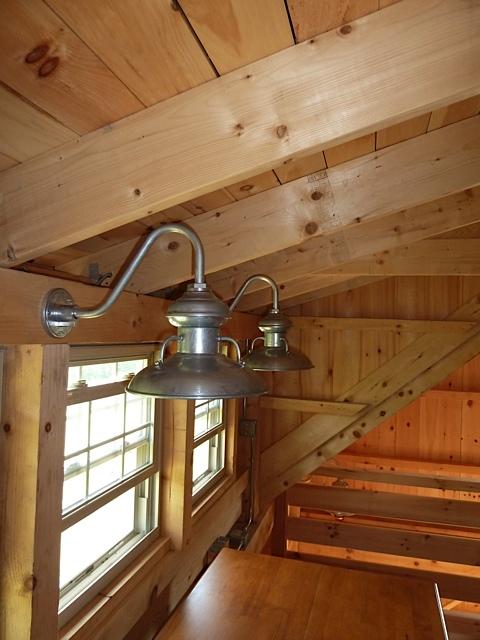 Pole Barn Loft Stairs