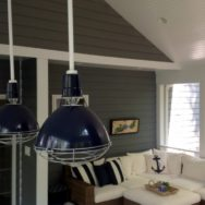 Featured Customer | Deep Bowl Uplight Pendants Add Nautical Flair to New Porch
