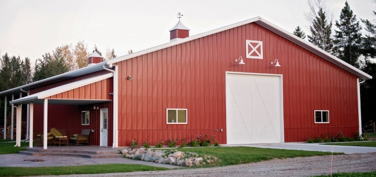 Laramie Barn Lights Add Traditional Touch to Metal Barn Blog