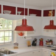 Featured Customer | Barn Pendant Lights Define Modern Country Kitchen