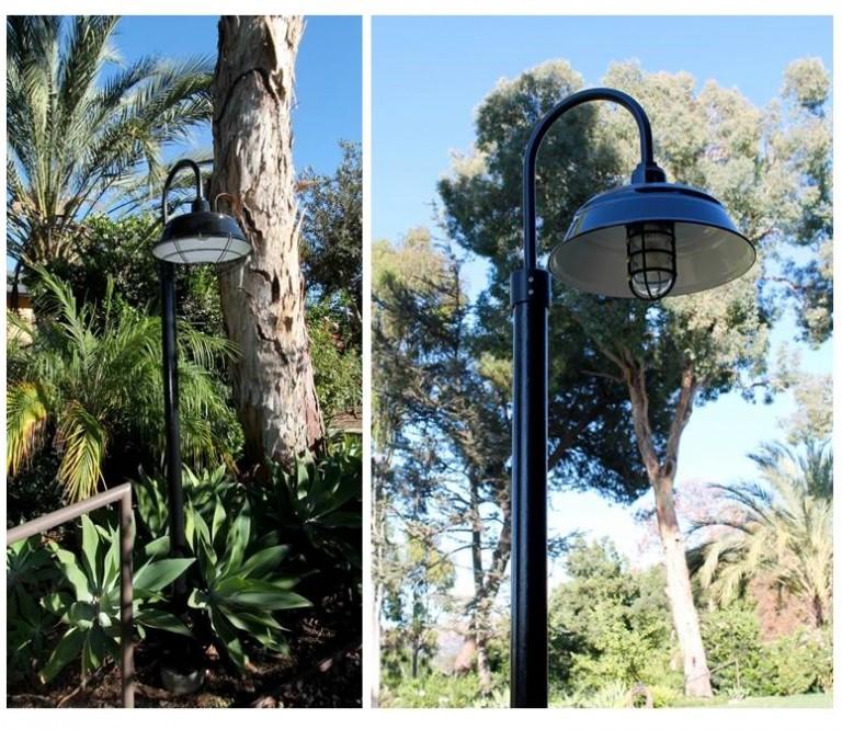 Lighting For Barns: Barn Lighting Rustic Complement To CA Hacienda
