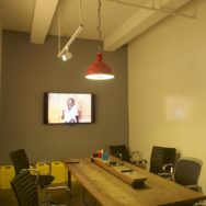 Featured Customer | Industrial Lighting Adds Welcoming Look to Nonprofit's NY Digs