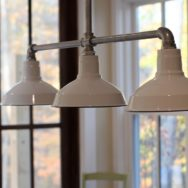 Featured Customer | Barn Wall Sconces, Chandelier Add to Fresh Farmhouse Feel