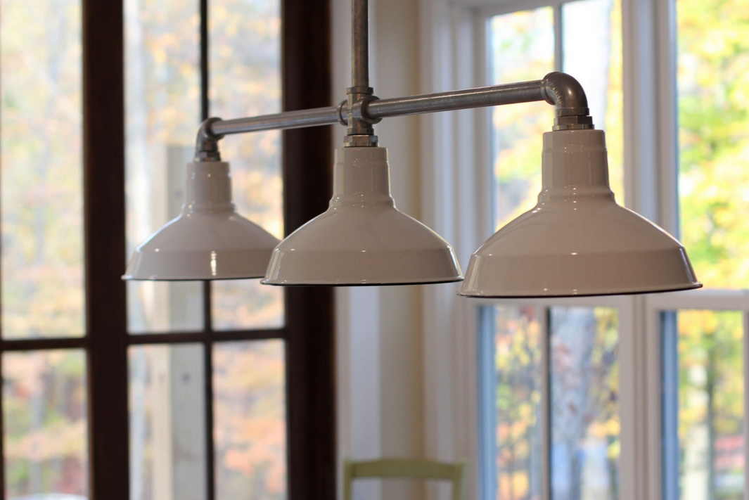 Barn Wall Sconces Chandelier Add to Fresh Farmhouse Feel Blog