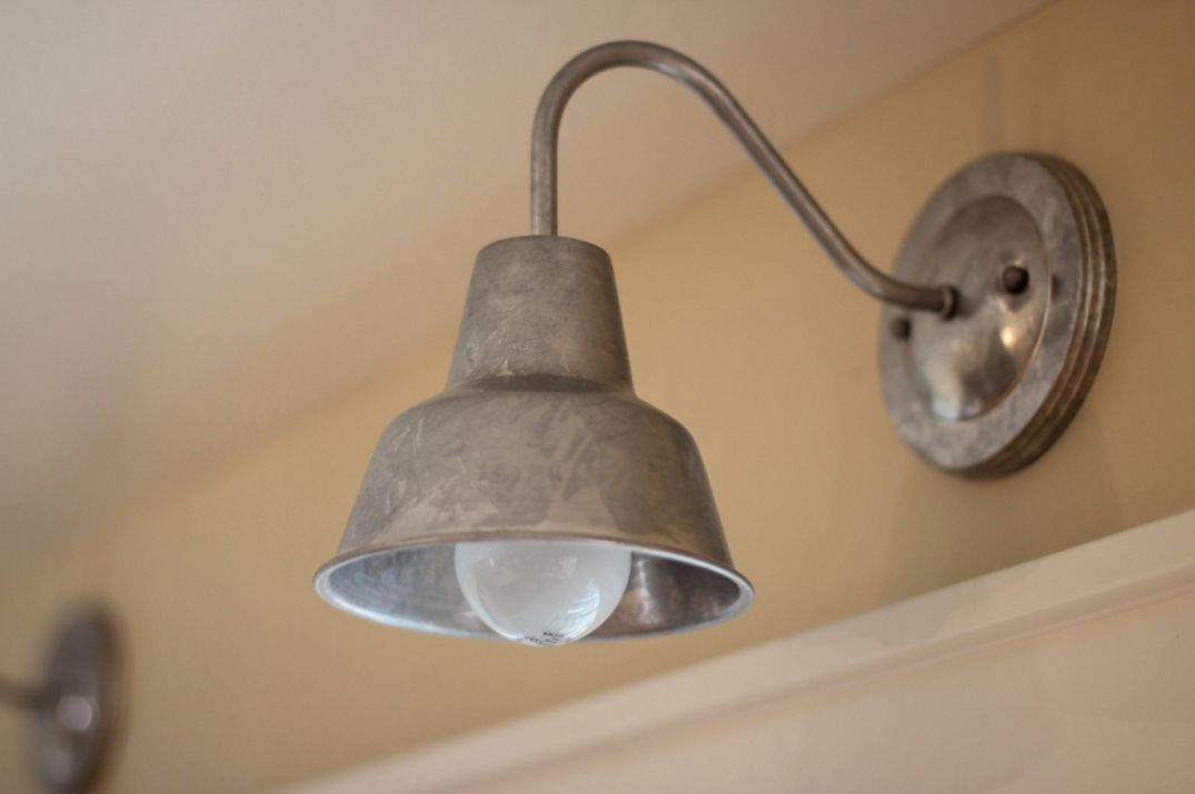 Wall Light Over Kitchen Sink : Barn Wall Sconces, Chandelier Add to Fresh Farmhouse Feel Blog BarnLightElectric.com