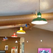 Featured Customer | Colorful LED Pendant Lights Create Fun Office Vibe