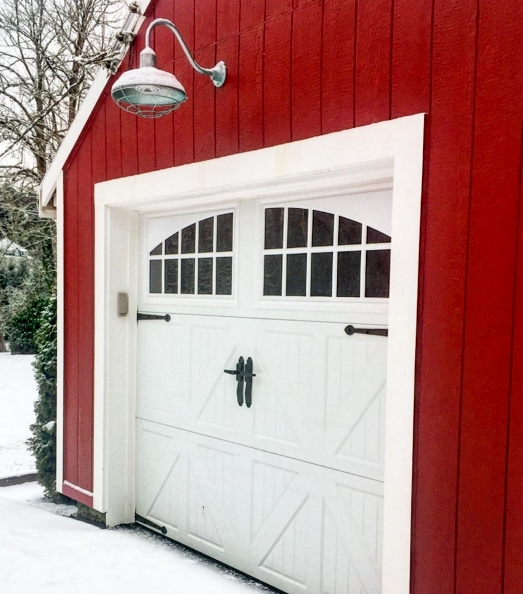 American Made Barn Lighting At Home In