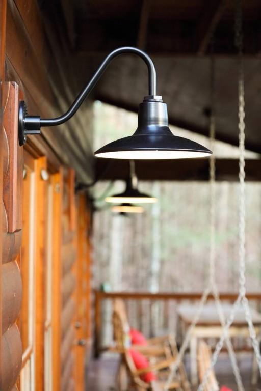 Gooseneck Barn Lighting for Mountain Retreat | Blog ...
