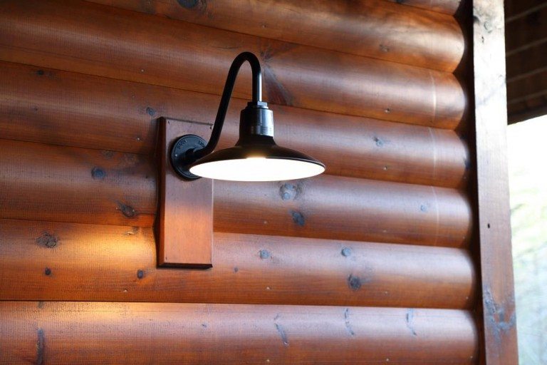 Gooseneck barn lighting for mountain retreat blog featured customer gooseneck barn lighting for mountain retreat aloadofball Choice Image