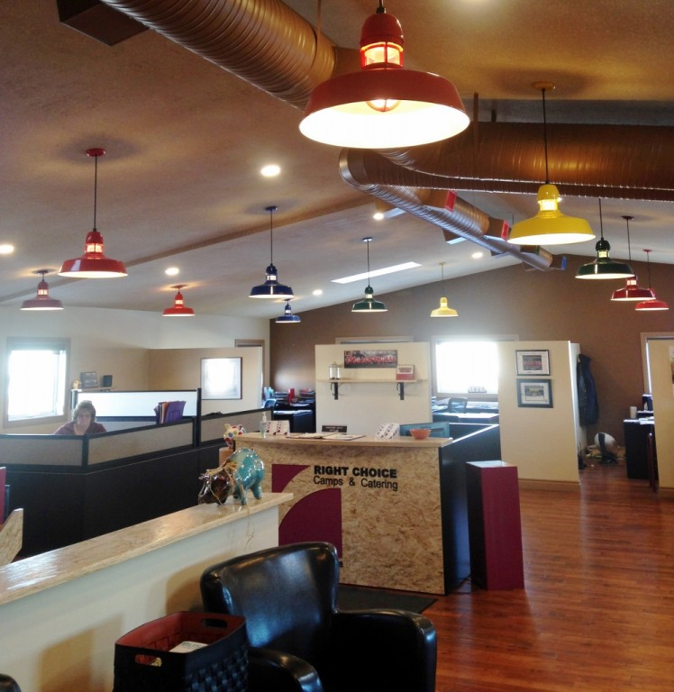 Lovely Featured Customer | Colorful LED Pendant Lights Create Fun Office Vibe