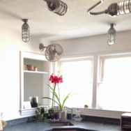 Featured Customer | Industrial Lighting Gives 1950s Kitchen New Vibe