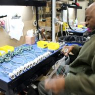 Behind the Scenes | Assembler Plays Vital Role in Crafting American-Made Lighting