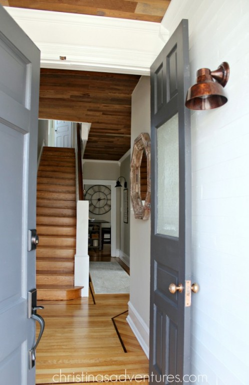 vintage farmhouse lighting. \u201cIt Was Our Last Major Piece Of Downstairs Area, So There A Light At The End Tunnel,\u201d Christina Says. \u201cBut It Hard Because We Couldn\u0027t Vintage Farmhouse Lighting