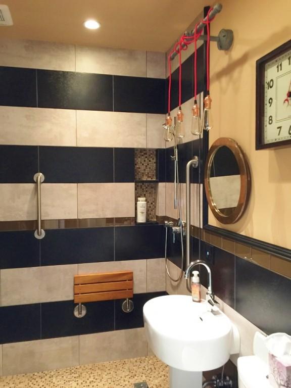 Steampunk Vanity Lighting For Bathroom Remodel Blog
