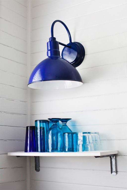 Used Electric Wall Sconces : Porcelain Enamel Dinnerware Makes a Splash on the Table Blog BarnLightElectric.com
