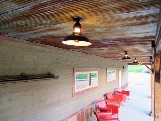 Classic Gooseneck Barn Lights Lend Authenticity To New