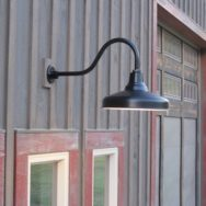 Featured Customer | Classic Gooseneck Barn Lights Lend Authenticity to New Build