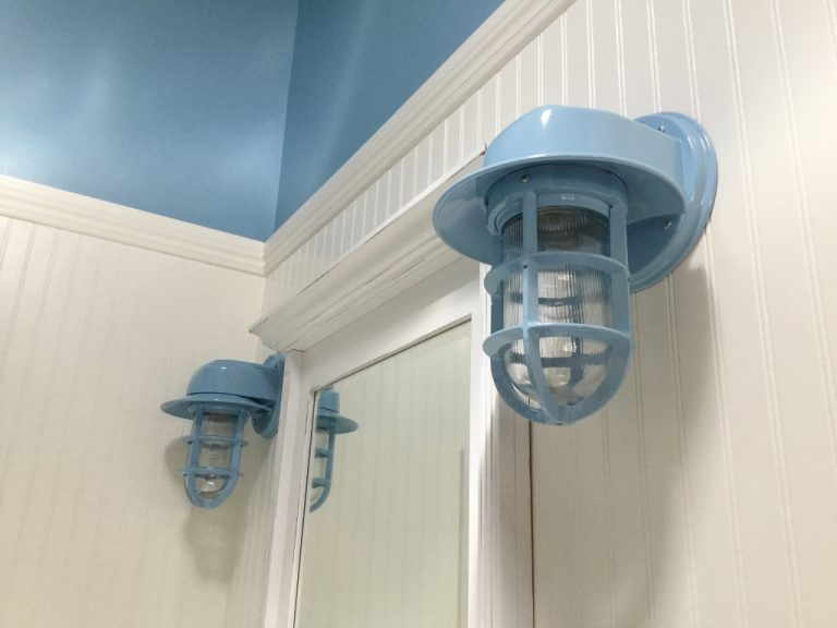 Awesome Coastal Bathroom That Requires Simple Yet Chic Lighting  Blog