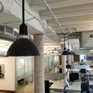 Featured Customer | Industrial Pendants Lend Chic Touch to Miami Office Space