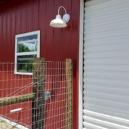 Featured Customer | Farm Tour Part Two Features American-Made Wall Sconces