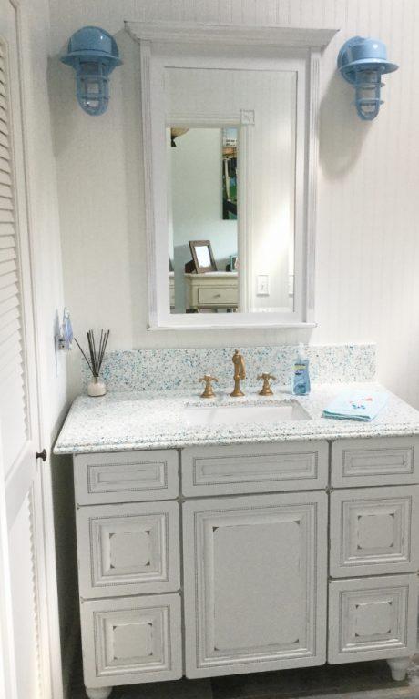 Bathroom Lighting Made In Usa nautical wall sconces for coastal california bath reno | blog