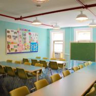 Professional's Corner | Classic Porcelain Pendants Brighten Hell's Kitchen Community Center