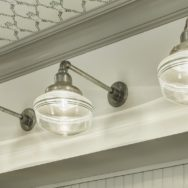 Professional's Corner | Schoolhouse Lighting Feels Right at Home in Vintage Farmhouse
