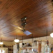 Featured Customer | Vintage Ceiling Fan for Lakeside Historic Building