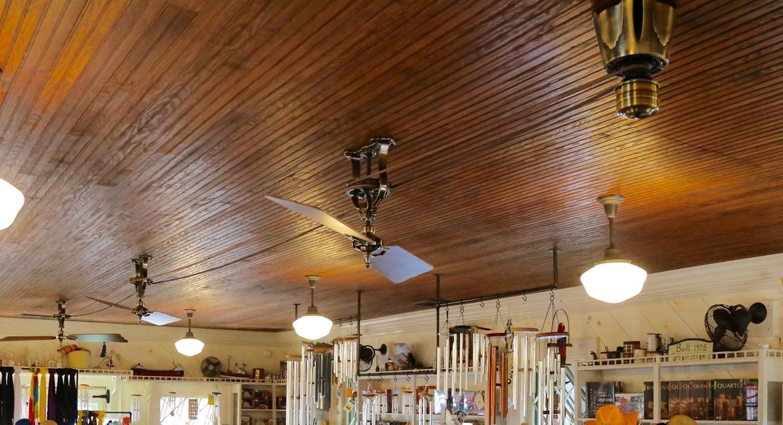 Vintage Ceiling Fan For Lakeside Historic Building Blog