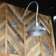 Professional's Corner | Gooseneck Barn Lights Top Off New Rooftop Bar