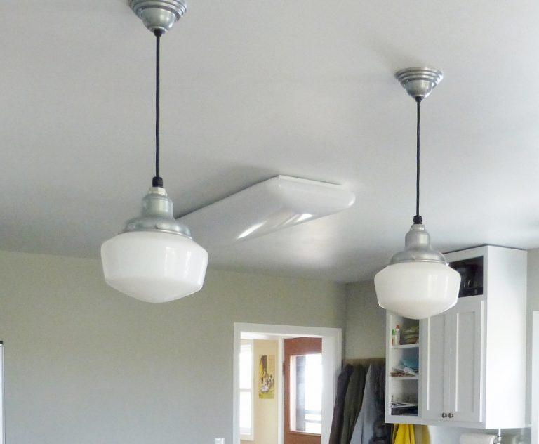 Featured Customer   Schoolhouse Lighting Brightens Major Kitchen